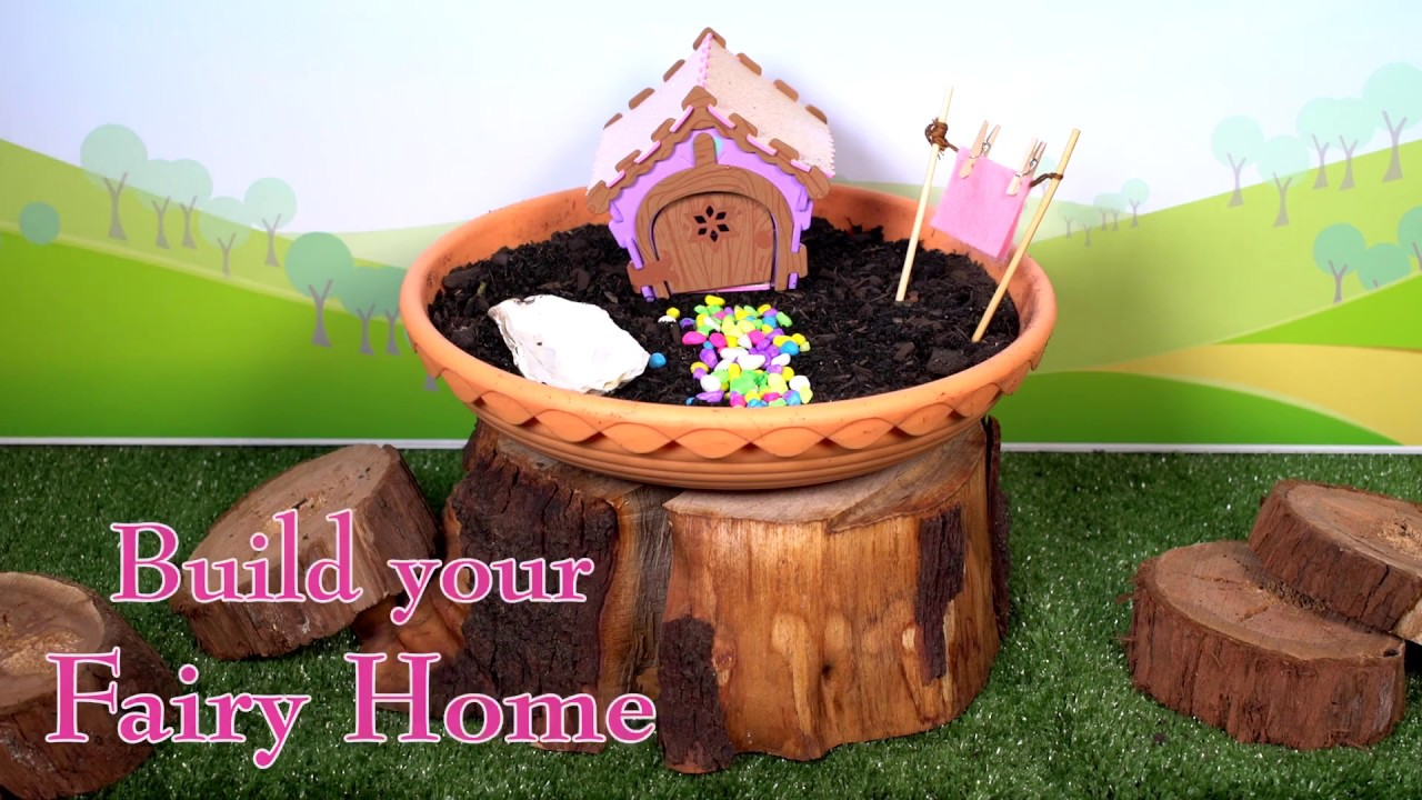 My fairy garden how to video create your indoor fairy for How to make an indoor garden