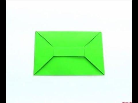 Оригами конверт для денег: мастер-класс и схема | 360x480