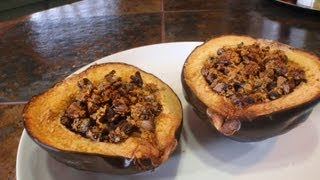 Easy Vegan Stuffed Acorn Squash Recipe