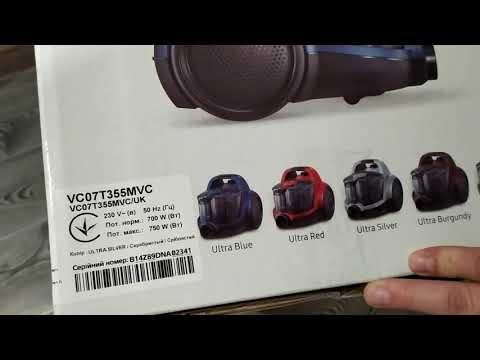 Пылесос без мешка SAMSUNG VC07T355MVC/UK