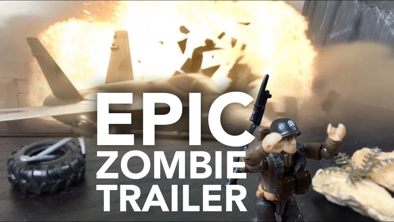 EPIC ZOMBIE MOVIE TRAILER W Call Of Duty MEGA BLOKS YouTube - Call duty exo zombies trailer looks epic