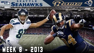A Dramatic Monday Night Finish! (Seahawks vs. Rams, 2013)