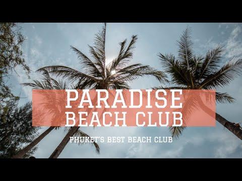 Phuket's Best Beach Club Around Patong?! Paradise Beach Club 2019