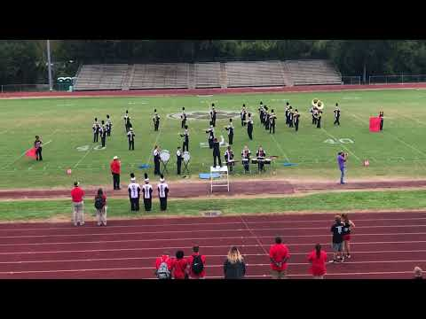 Brusly High School Band - The Panther Sound @Rayne High School Marching Festival (10/7/17)
