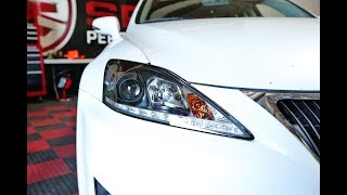 Spyder Auto How to Install: 2006-2010 Lexus IS250/350 LED Headlights