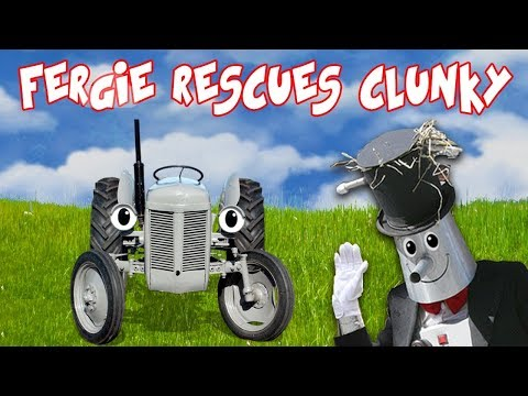 Fergie Rescues Clunky! (Stop Motion Animation)