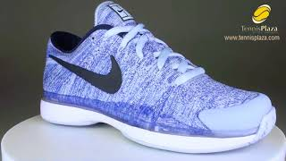 Nike Zoom Vapor Flyknit Tennis Shoes 3D View   Tennis Plaza Review