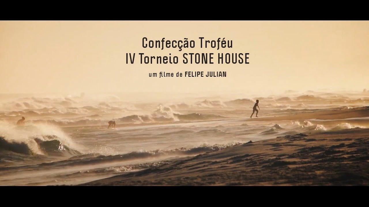 Confecção troféu 4º Torneio Stone House