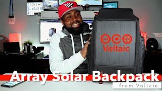 Array Rapid Solar Backpack | by Voltaic Systems
