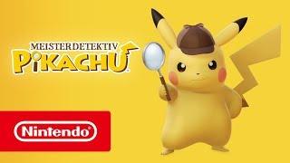 Meisterdetektiv Pikachu - Veröffentlichungstrailer (Nintendo 3DS)