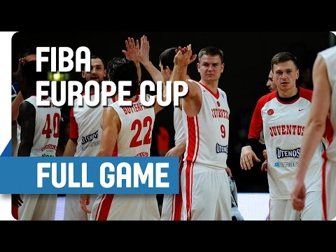Juventus Utena (LTU) v Khimik (UKR) - Full Game - Group T - FIBA Europe Cup