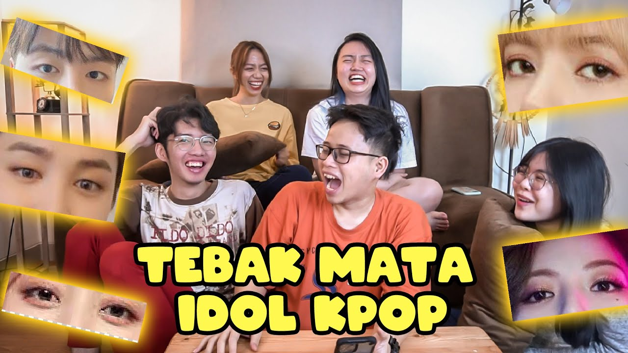TEBAK IDOL KPOP DARI MATA! Feat. Bora, Gerald, Jw. Jeanet