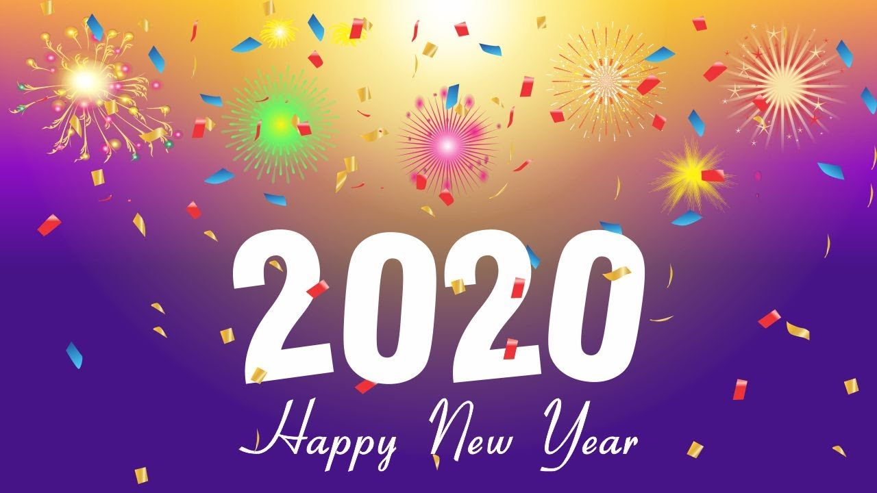 How To Create Happy New Year 2020 Background Free Cdr File Freegraphic In