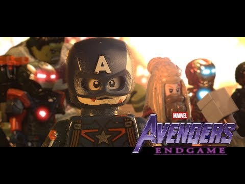 LEGO Avengers Endgame Final Battle - PORTALS scene! (stop-motion)