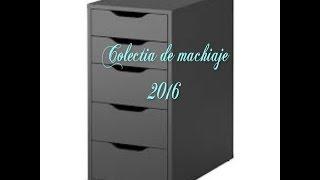My makeup collection 2016 / Colectia mea de produse  pentru machiaj