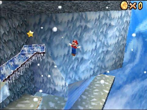 Super Mario 64 DS: Cool Cool Mountain (Mario's Super Wall Kick) [HD]