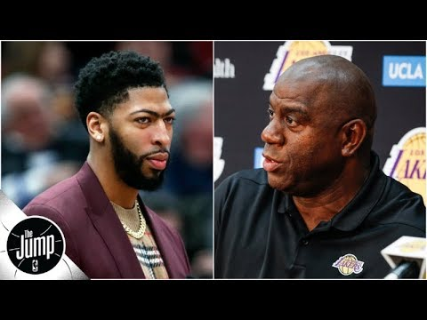 Pelicans tried to 'jab' Lakers in Anthony Davis trade talks - Brian Windhorst | The Jump