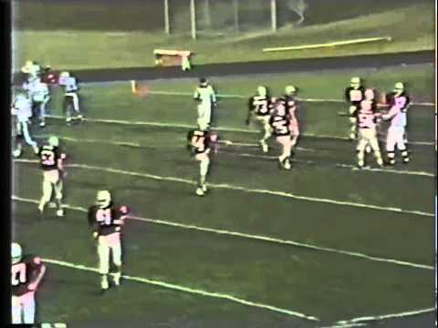 1992 Maine High School Football Semi-final Highlights (Lewiston vs S. Portland)