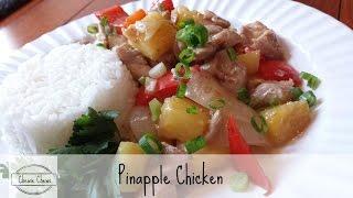 Pineapple Chicken Stir Fry  Quick & Easy  CHEWIE CHEWS