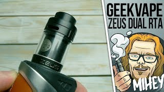 GeekVape Zeus Dual RTA 4ml. Хороша непроливайка, але не моя...