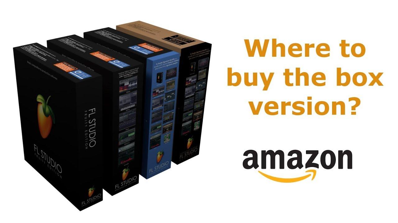 FL Studio 20 Box on Amazon: Where to Buy & Prices (full version)