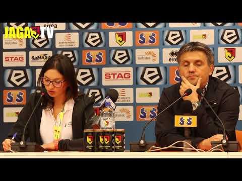 Trenerzy po meczu Jaga vs Legia (1-0)