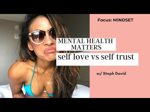VLOG: SELF LOVE VS. SELF TRUST