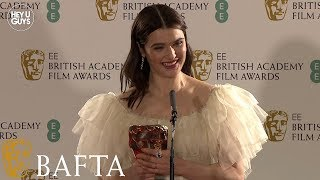 Rachel Weisz WINNER Supporting Actress  BAFTA 2019 Press Conference