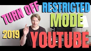 How To Turn Off Restricted Mode On Youtube On Android Or IPhone 2019