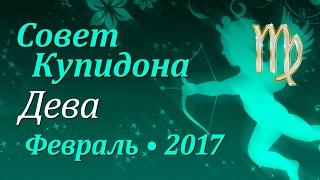 Дева, совет Купидона на февраль 2017. Любовный гороскоп.