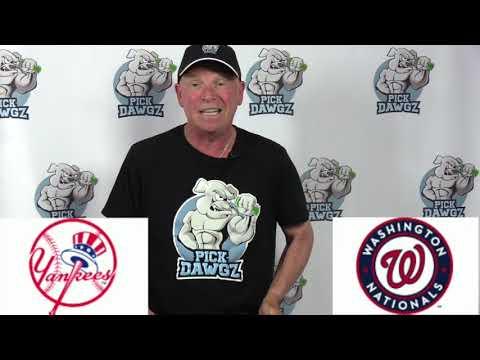 New York Yankees vs Washington Nationals Free Pick 7/23/20 MLB Pick and Prediction