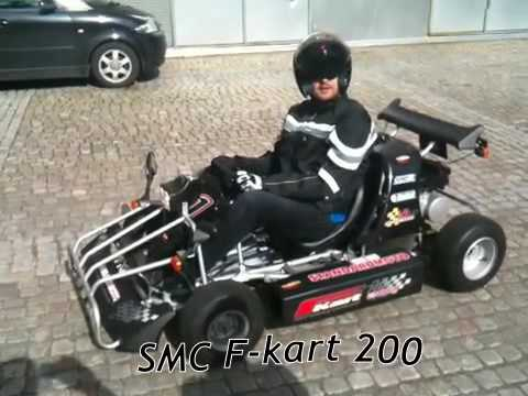 smc f kart 200 youtube. Black Bedroom Furniture Sets. Home Design Ideas