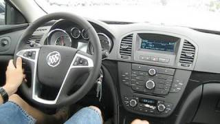 Test Drive The All New 2011 Buick Regal CXL (Acceleration, Country/City Driving, etc.)