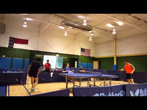 July 2015 Charlotte Table Tennis Open Finals