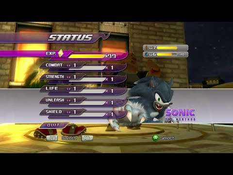 Sonic Unleashed (360)