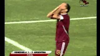 Resumen del Juego Venezuela VS. Argentina por Meridiano Televisión