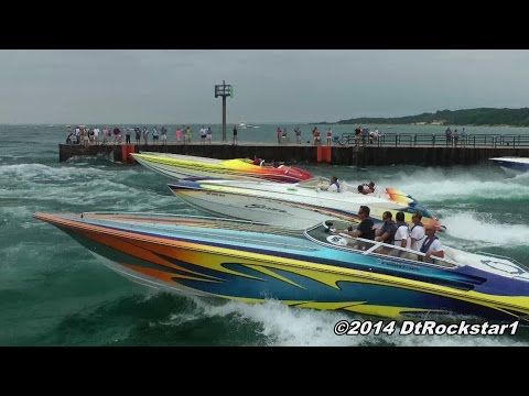 100+ Offshore Racing Boats Accelerating!