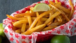 Baked Chili-Lime French Fries