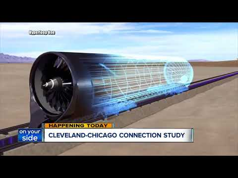 Is a trip from Cleveland to Chicago in under 30 minutes feasible? This plan could make it happen