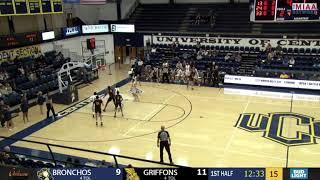 Missouri Western MBB vs. Central Oklahoma - Derek Zimmerman-Guyer - Sports Block Highlights