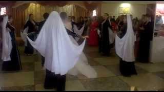 ансамбль Молодость. Встреча жениха и невесты.