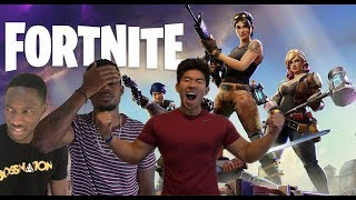 CRAZIEST GAME OF FORTNITE W/ KAY AND MOR MONEY - FORTNITE BATTLE ROYAL