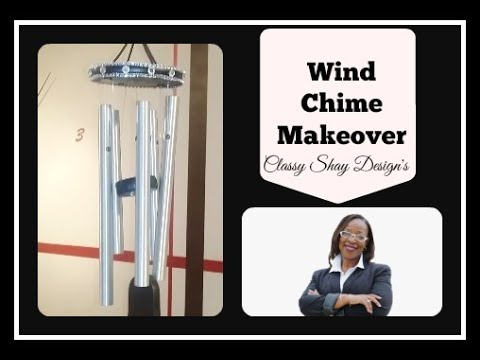 DIY: 🎶Wind Chime Makeover| Home Decor|🎶 3 Of 3