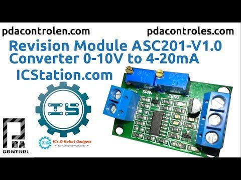 Review Module ACS201-V1.0  Converter 0-10V to 4-20mA  ICStation.com : PDAControl