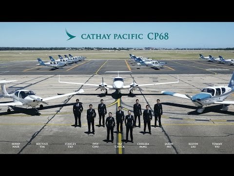Cathay Pacific CP68 Graduation video: Life as a Cadet Pilot
