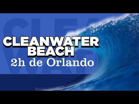 Clearwater beach praia a 2h de Orlando - Florida