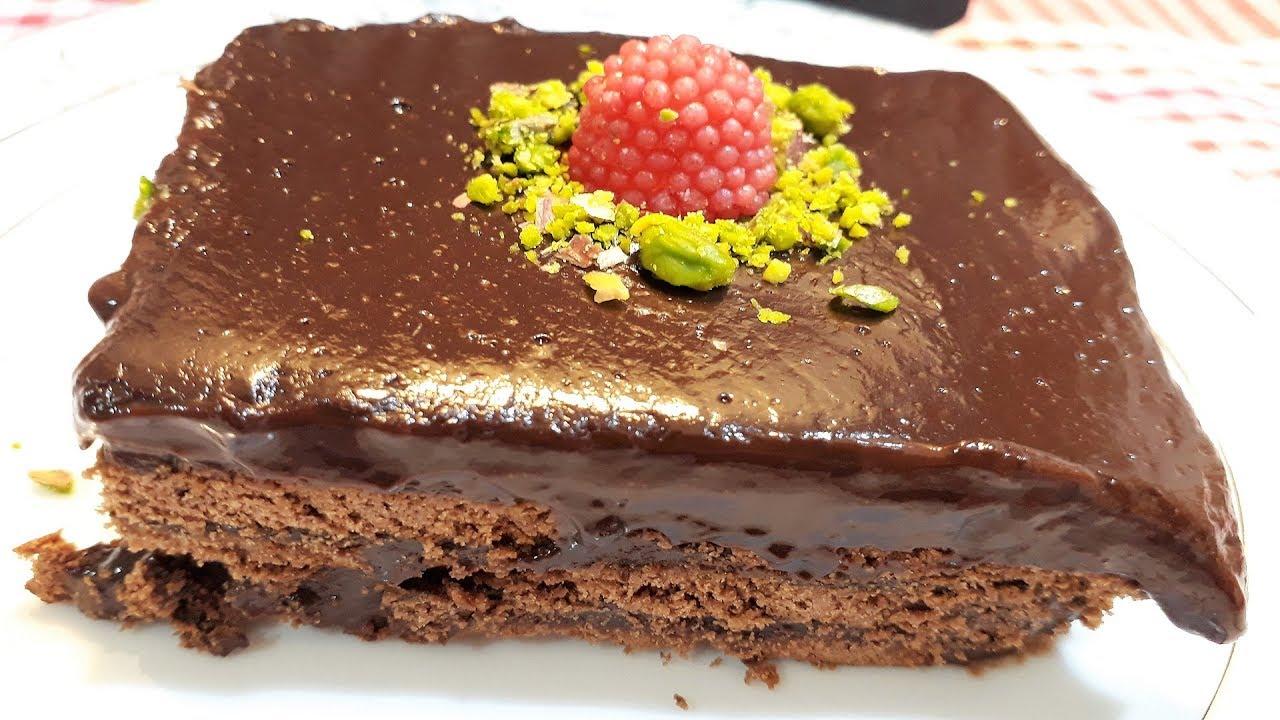 Çikolatalı Bisküvili Browni