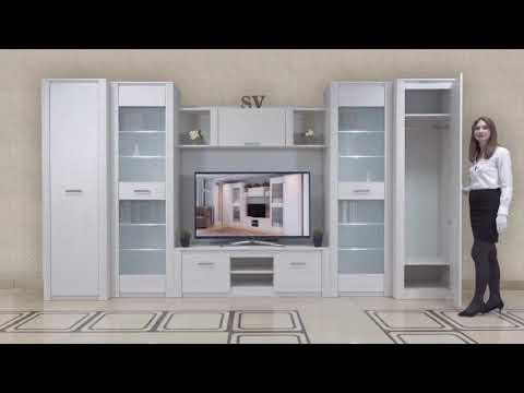 Белая мебель выглядит роскошно! Выбирая гостиную, обратите внимание на модель «Гамма-20»