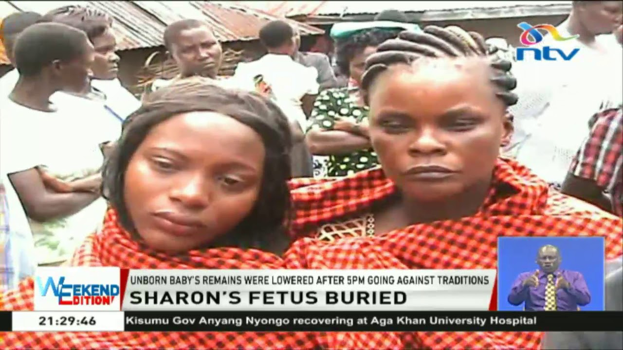 Sharon Otieno's foetus buried in a low - key ceremony ...
