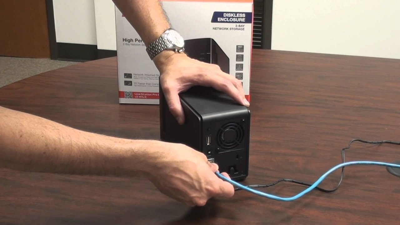 Installing and Setting up a Diskless LinkStation (LS-WVL/E) NAS Device